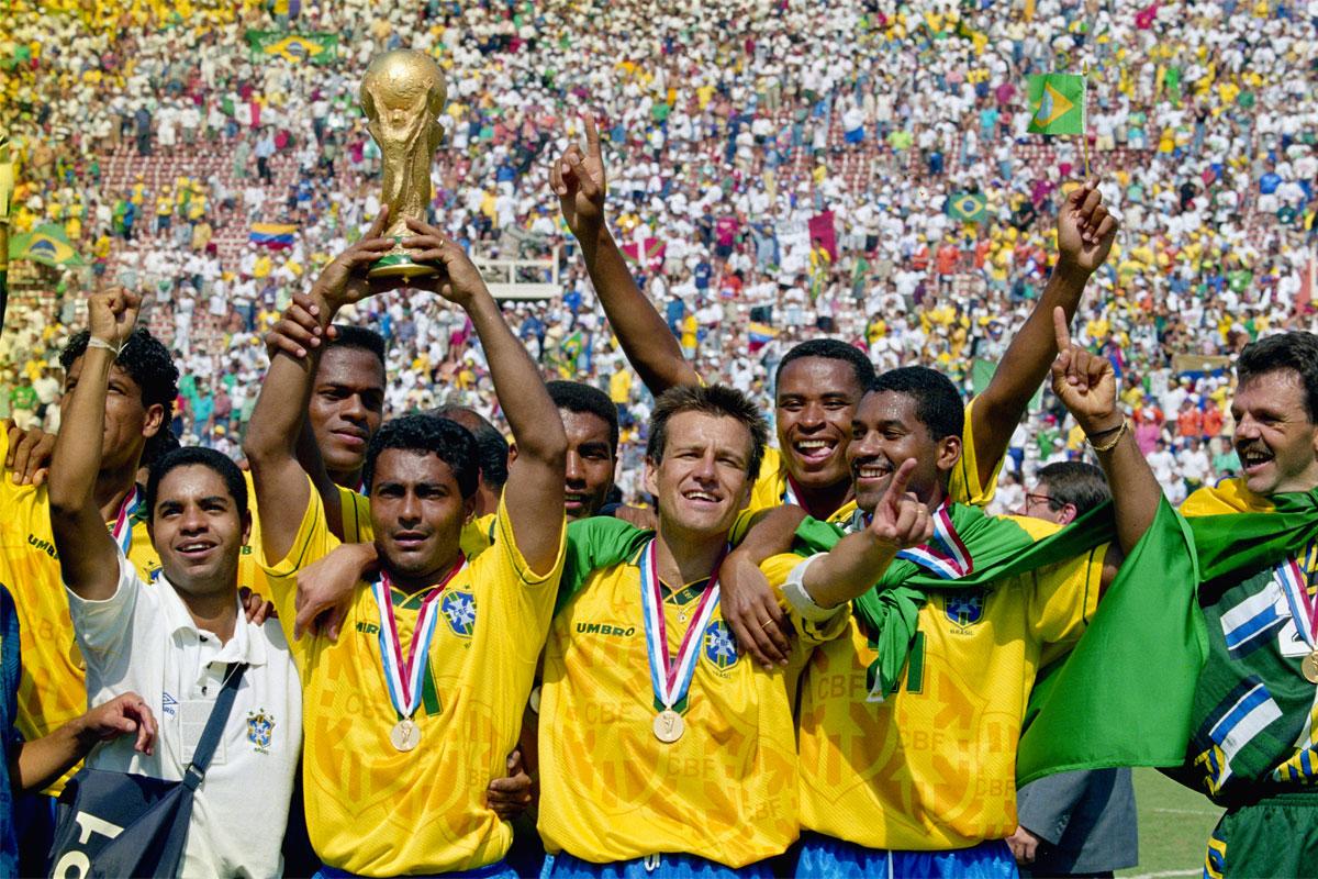 USA 1994: il Brasile si laurea campione del mondo vincendo contro l'Italia ai rigori