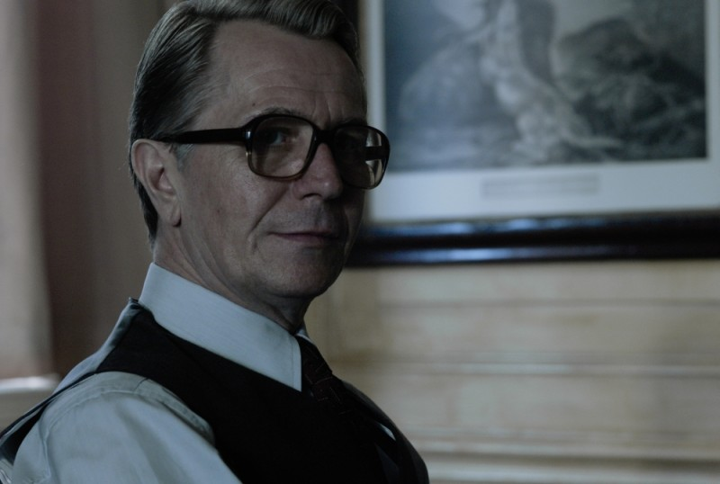 Gary Oldman alias mr Smiley nel film La Talpa