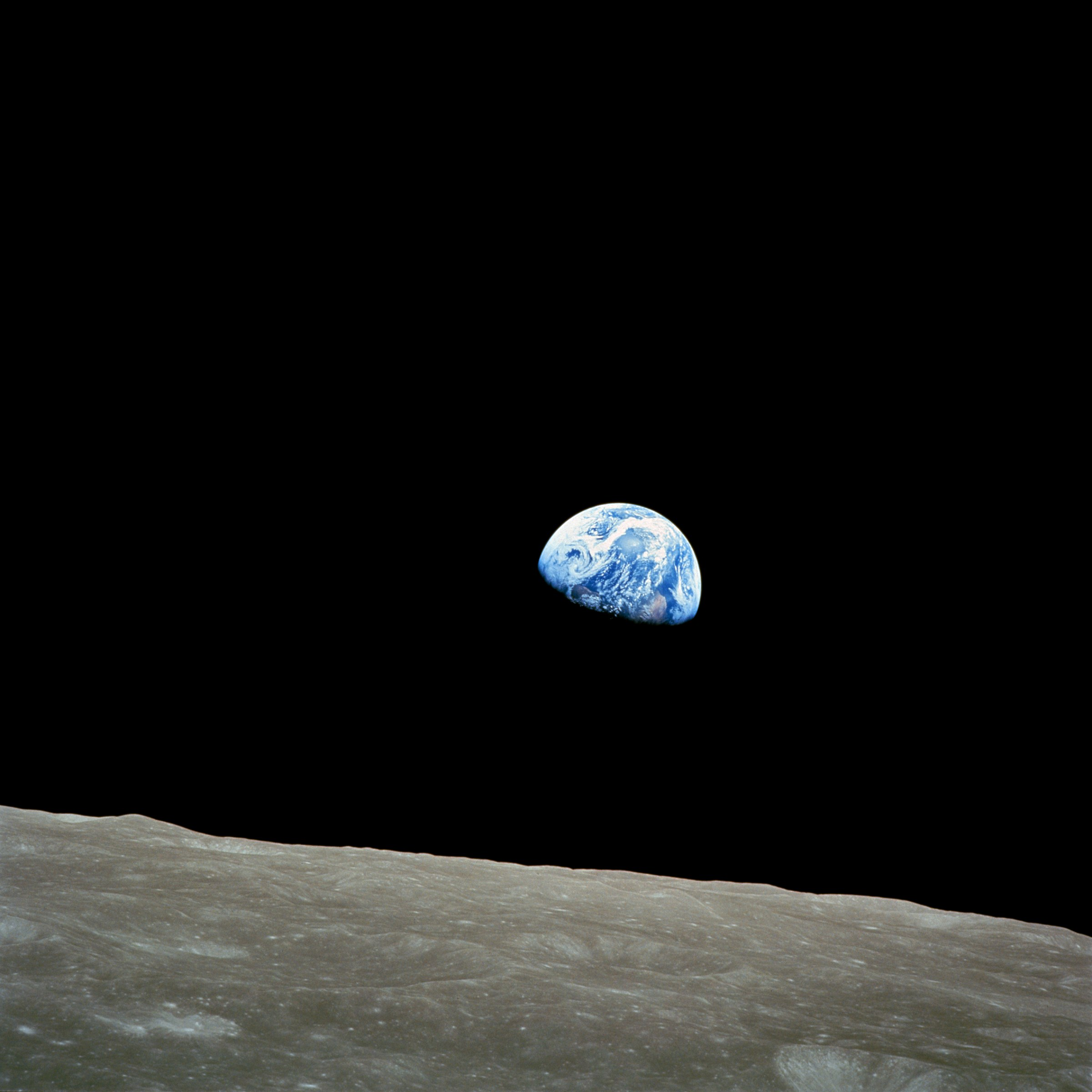 Terra vista dalla Luna
