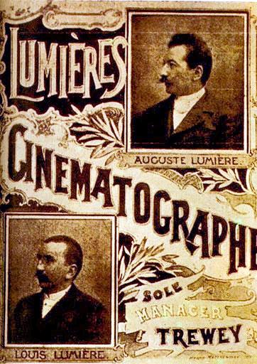 I fratelli Lumière e il Cinematografo