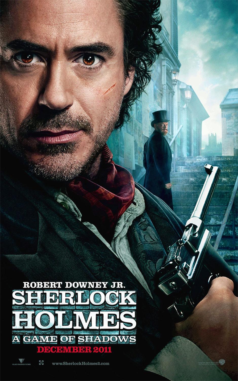 """Film Sherlock Holmes """"Gioco di Ombre"""", locandina"""