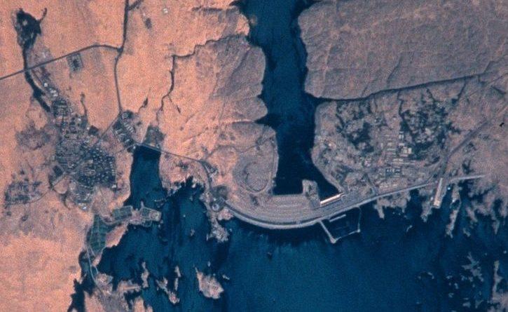 Diga di Assuan Egitto