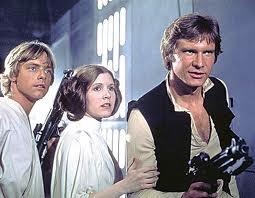 Star Wars - una scena del film