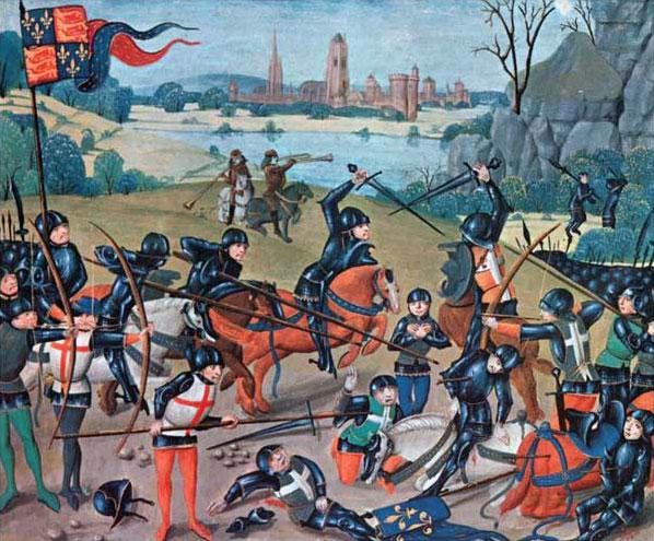 Guerra dei Cent'anni - La battaglia di Azincourt