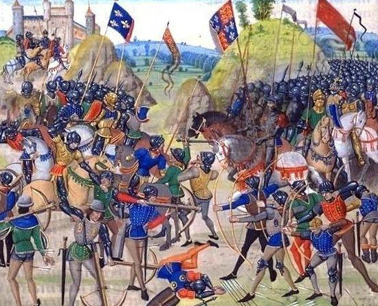 Guerra dei Cent'anni - La battaglia di Crecy
