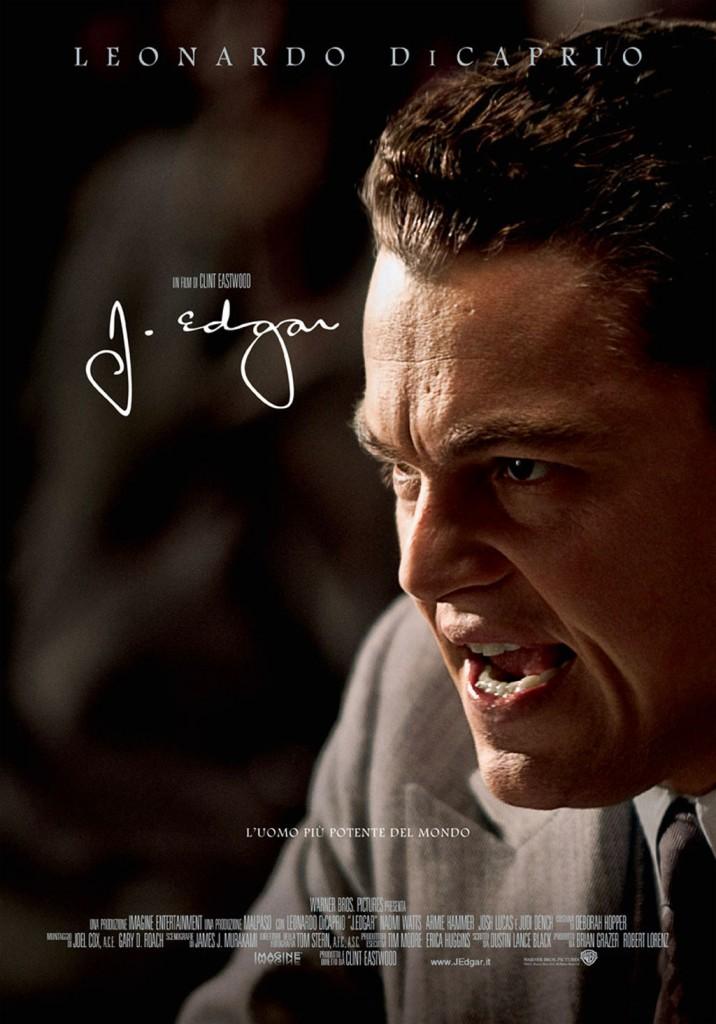 J. Edgar, la locandina del film