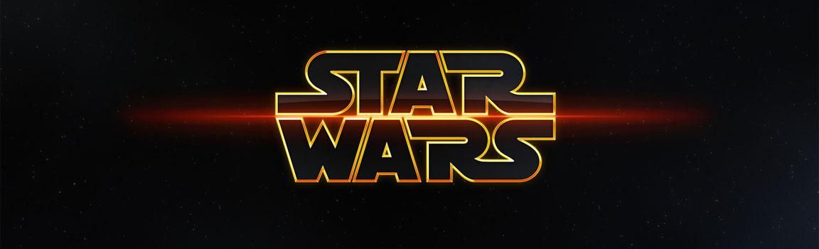 Logo Star Wars - Guerre Stellari