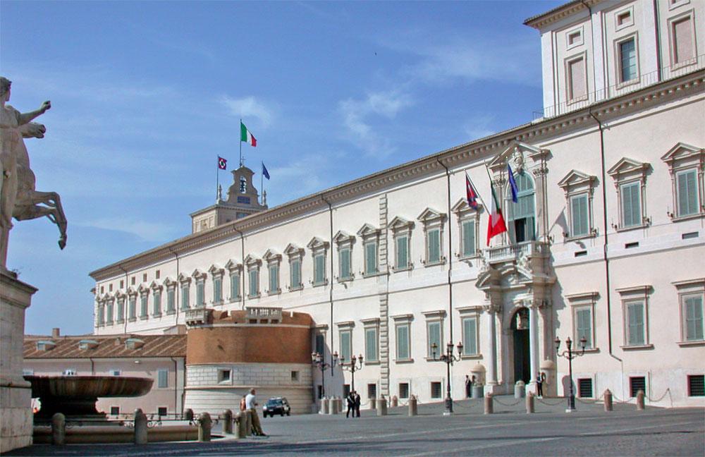 Il Quirinale, Sede del Presidente della Repubblica