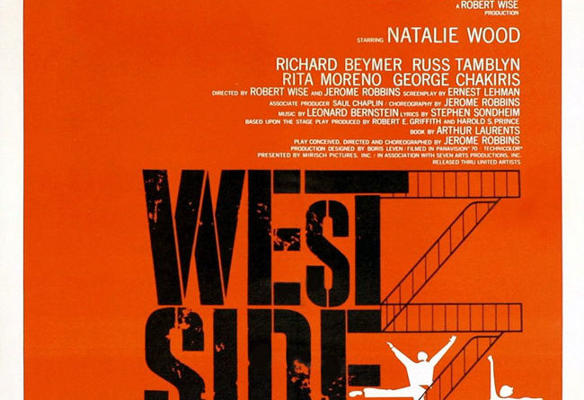 West Side Story - Locandina del film del 1961