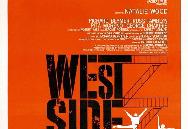 West Side Story - Locandina del film del 1961