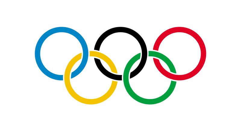 Bandiera olimpica (I cinque cerchi olimpici)