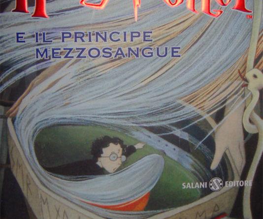 Harry Potter e il Principe Mezzosangue, Copertina del libro