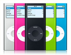 iPod colorati
