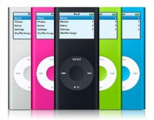iPod colorati