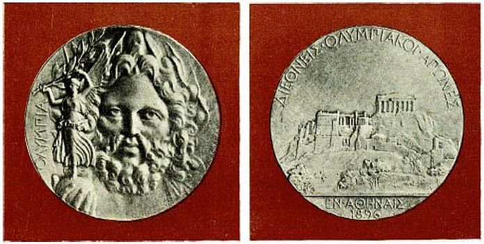 Medaglia d'argento (Olimpiadi Atene, 1896)