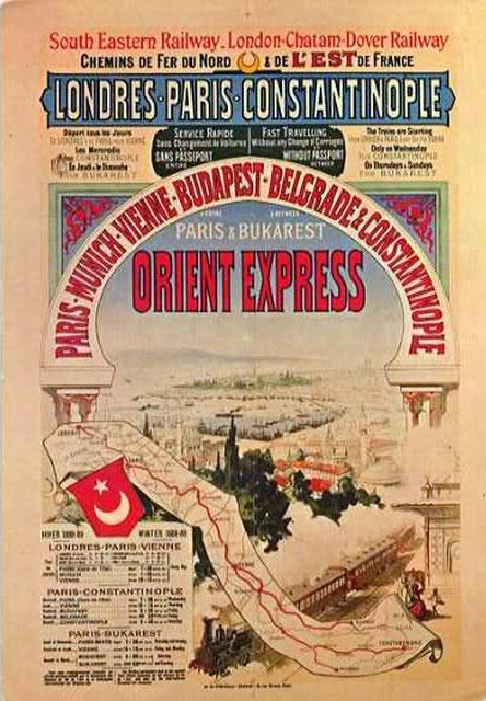 Orient Express, locandina