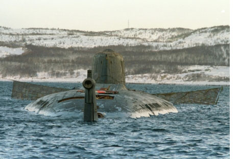 Il sottomarino Kursk