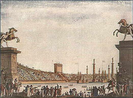Naumachia Arena Civica Milano 1807