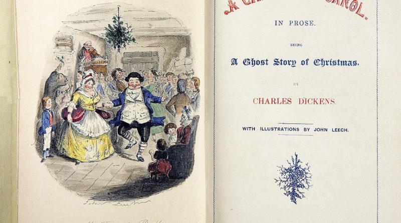 A Christmas Carol (Canto di Natale), la prima edizione del 1843
