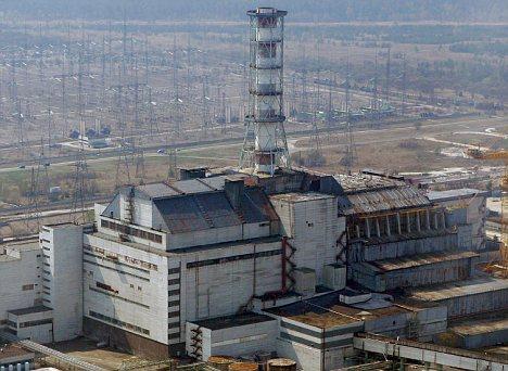 Chernobyl, la centrale nucleare