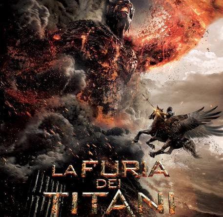 La furia dei titani, locandina del film (2012)