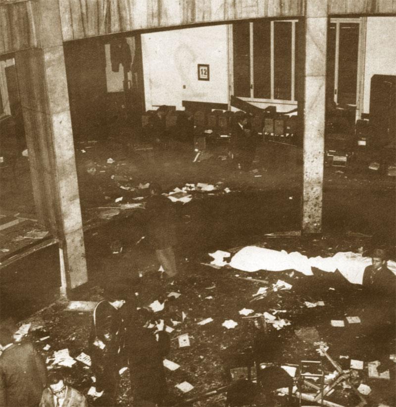 Milano, 12 dicembre 1969: Strage di Piazza Fontana