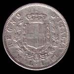 1 lira del 1863