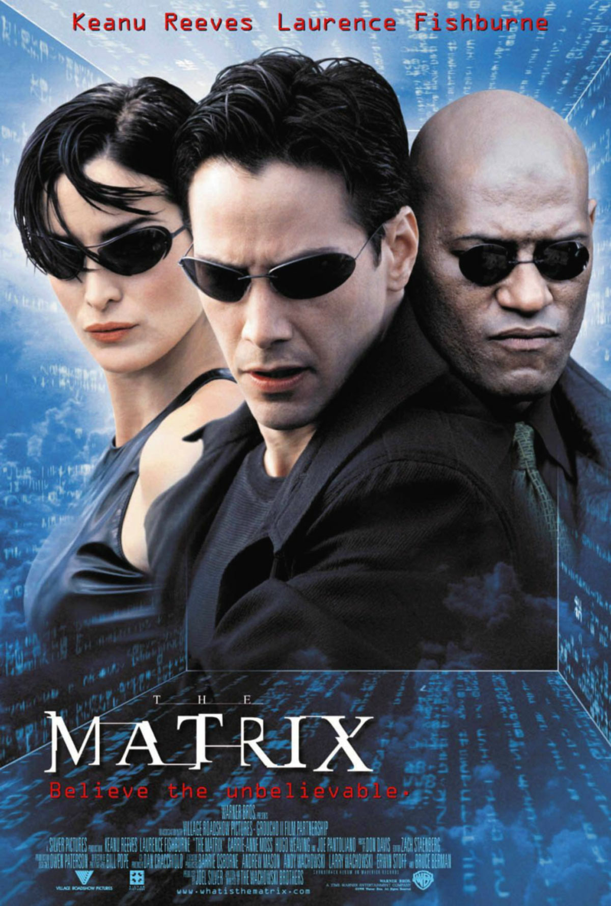 Neo: Mi fanno male gli occhi. |  | Morpheus: Perché non li hai mai usati. |