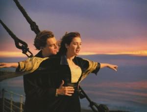 Titanic - Una famosa scena del film