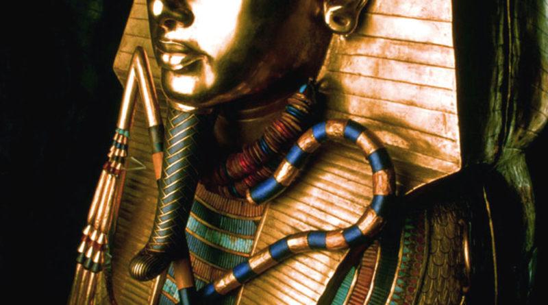 Tutankhamon - Il sarcofago d'oro massiccio