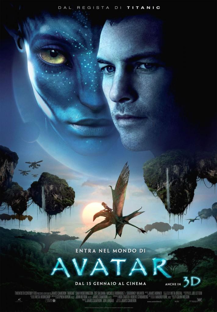 Avatar, Locandina italiana