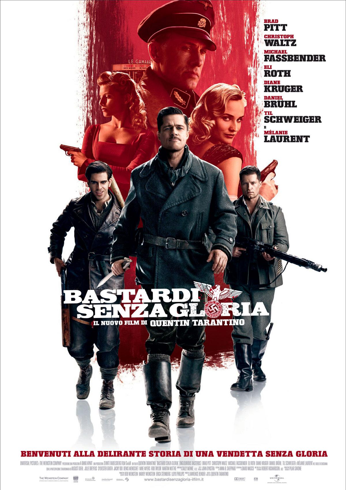 Favoloso Frasi del film Bastardi senza gloria XH16