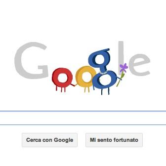 Il doodle di Google dedicato alla Festa della mamma, 13 maggio 2012