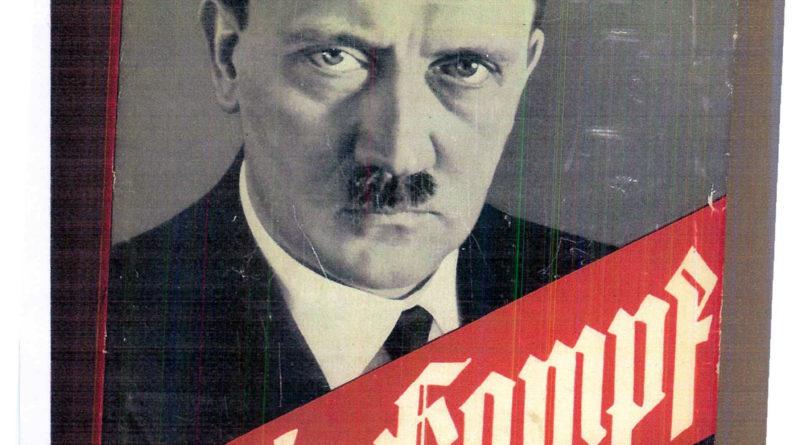 "Copertina del ""Mein Kampf"" di Hitler"