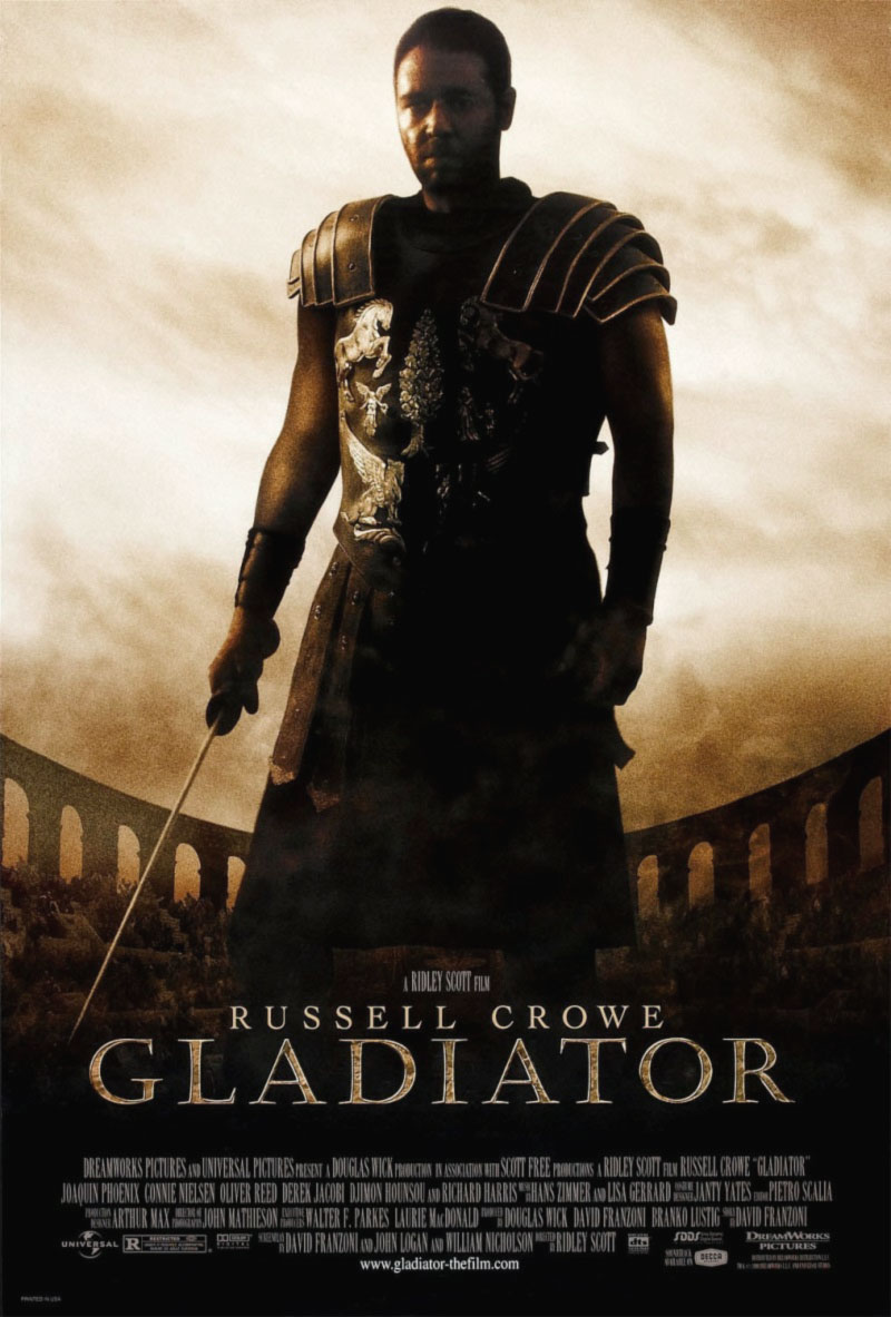 Il Gladiatore - Russell Crowe