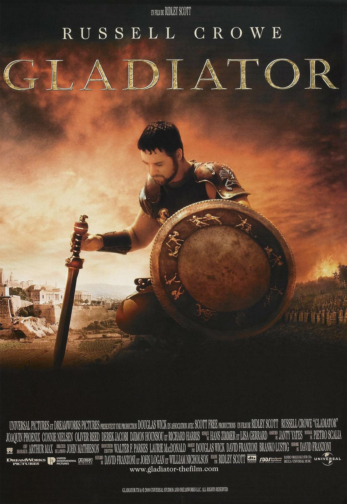 Il Gladiatore - locandina e poster del film