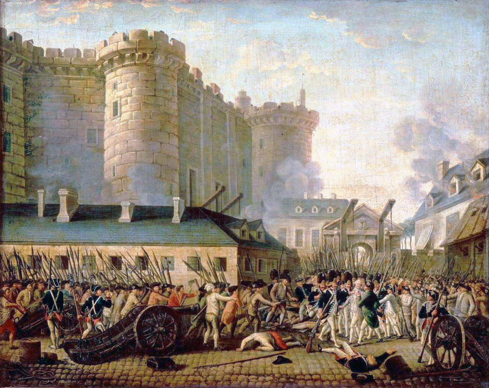 Rivoluzione Francese: La presa della Bastiglia, 14 luglio 1789