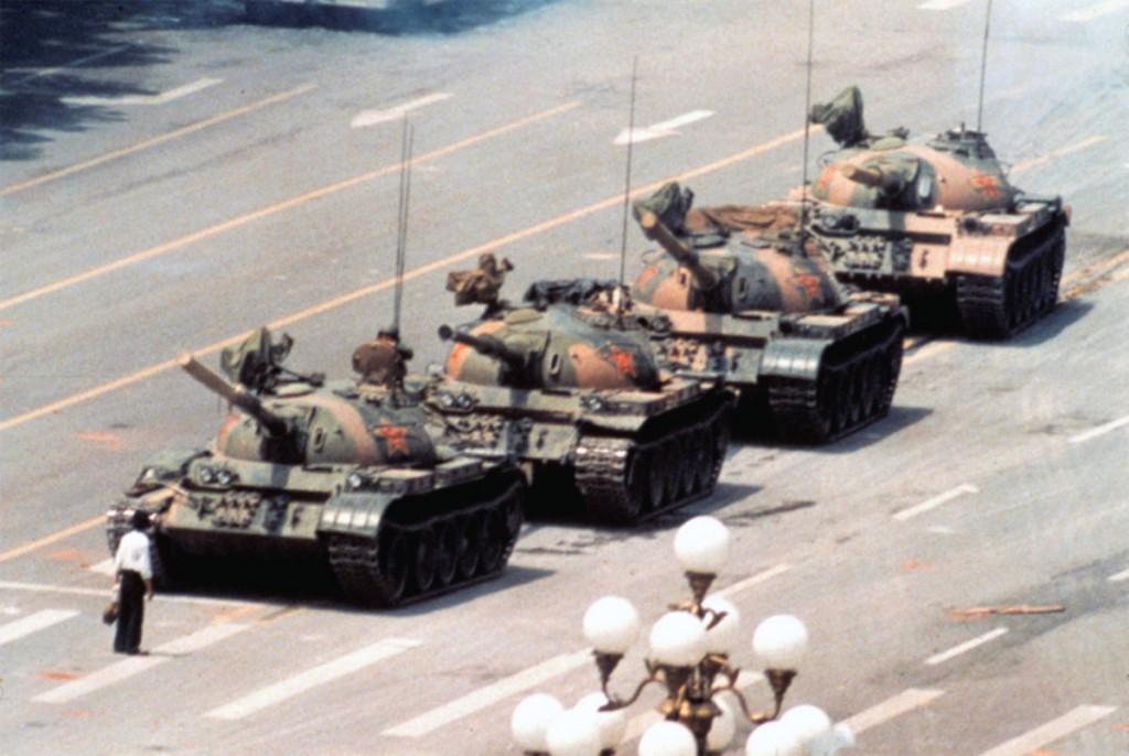 Tank Man, lo sconosciuto di Piazza Tienanmen