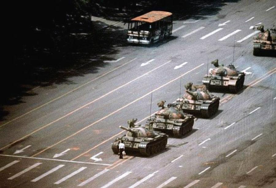 Lo sconosciuto di Piazza Tienanmen