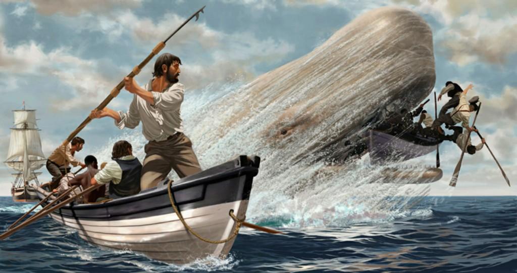 Moby Dick, un'illustrazione