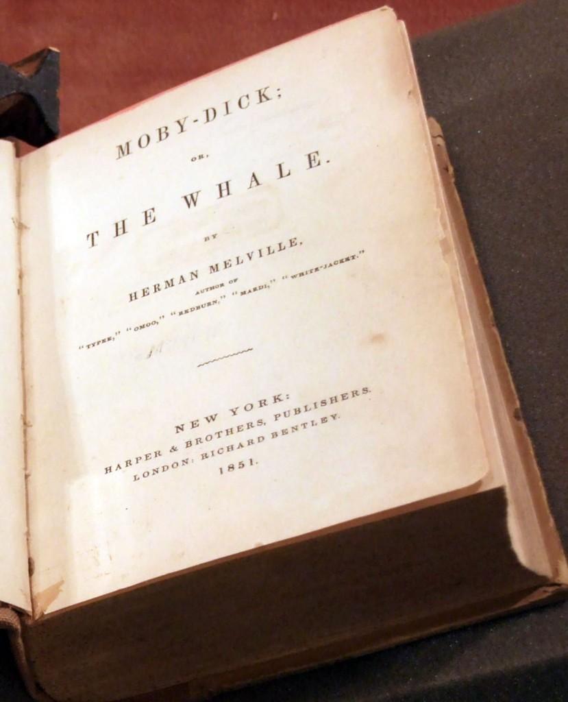 La prima edizione di Moby Dick, del 1851
