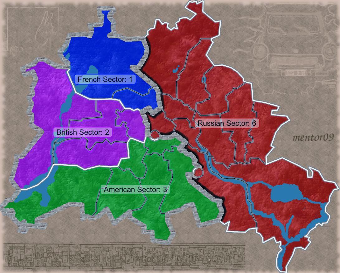 Pianta Muro Berlino : La caduta del muro di berlino e riunificazione tedesca
