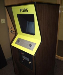 Pong, uno dei primi videogiochi