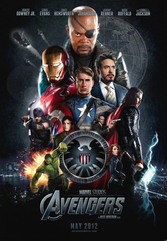 The Avengers (2012), locandina del film