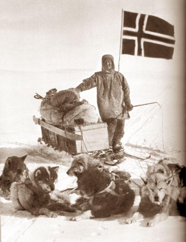 Amundsen al Polo Sud