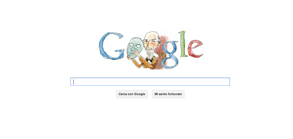 Doodle Google celebrativo: Luigi Pirandello