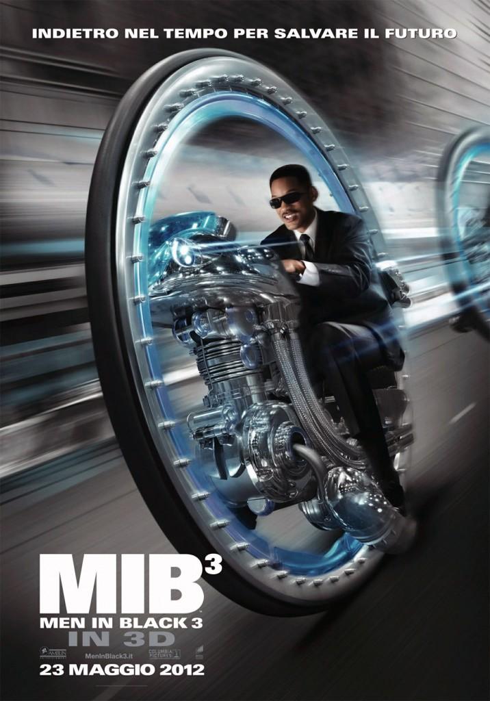 "Locandina e poster di ""Men in Black 3"""