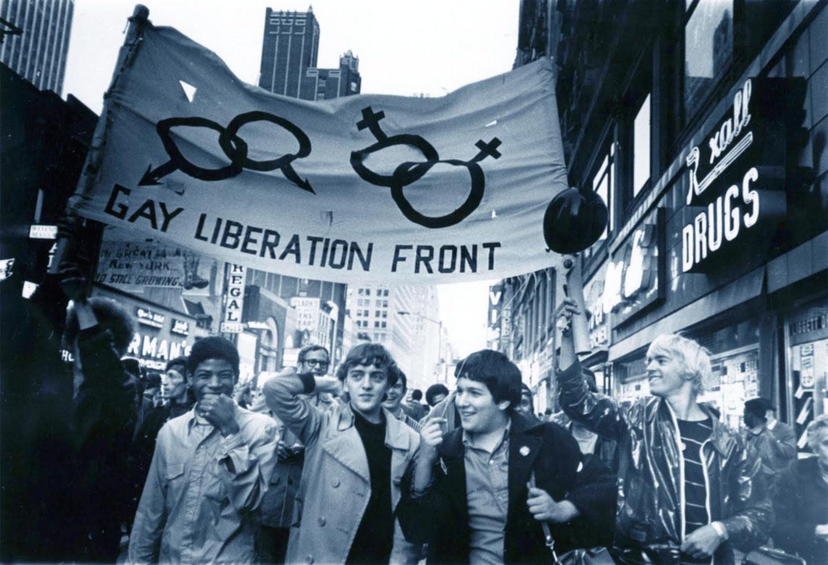 Manifestazione gay dopo i Moti di Stonewall