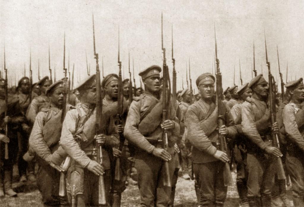 Prima Guerra Mondiale, soldati russi