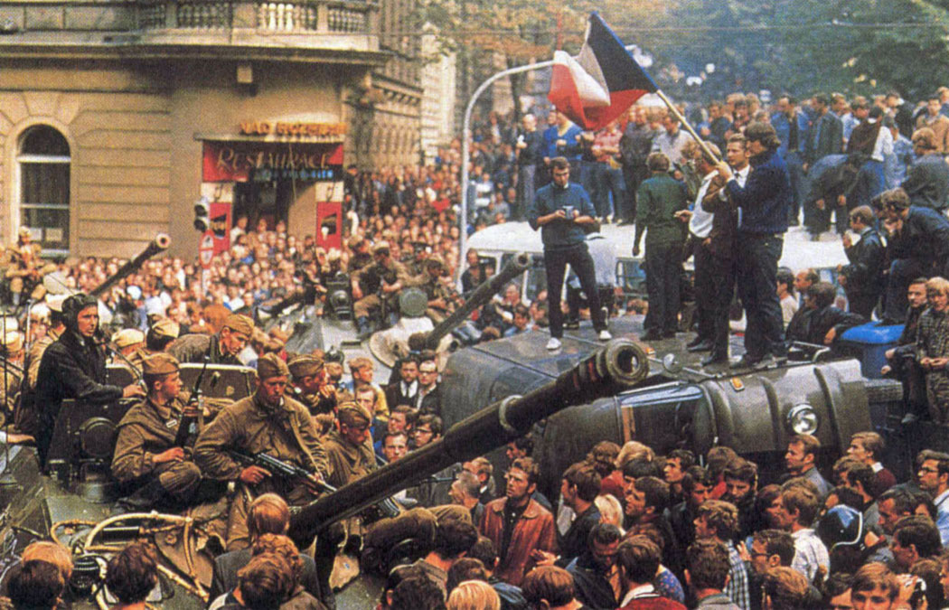 La Primavera di Praga (1968)